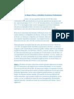 Relaciones Entre Rasgos Físicos y Actividades Económicas Predominantes