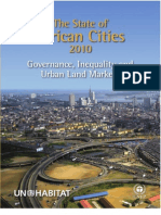UN-Habitat - The State of African Cities 2010