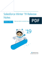 Salesforce Winter19 Release Notes