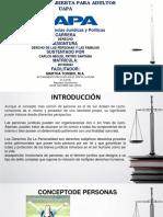 TAREA I DERECHO DE LAS PERSONAS Y LAS FAMILIAS DER-102.pptx