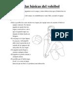 Las Reglas Básicas Del Voleibol