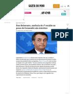 Bolsonaro fala sobre ausência do primeiro escalão na posse de Fernandéz.pdf