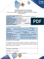 Guía de actividades y rubrica de evaluación - Tarea 3 - Dibujo Arquitectónico (1).pdf