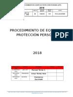 Procedimiento de Equipo de Protección Personal