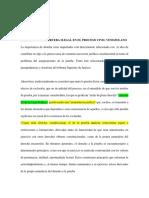IMPORTANCIA La Prueba Ilegal en El Proceso Civil Venezolano