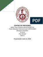 DETERMINACION DEL CENTRO DE PRESIONES NUEVO.docx