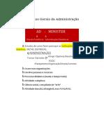 ADMINISTRAÇÃO IBGE FGV