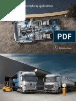Mercedes-benz on Highway Application