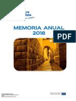 Memoria 2018 Electro