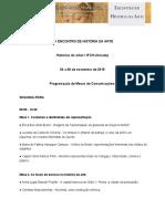 EHA 2019 Programação de Mesas de Comunicação