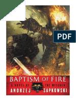 [2014] Baptism of Fire (The Witcher Book 3) by Andrzej Sapkowski |  | Orbit
