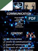Communication slides