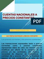 CUENTAS NACIONALES A PRECIOS CONSTANTES.ppt