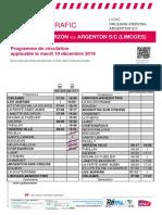 Axe j _ Info Trafic - Orleans-Vierzon-Argenton S_c (Limoges) Du 10-12-20...