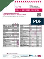 Axe b _ Info Trafic - Tours-Vierzon-bourges (Nevers) Du 10-12-2019