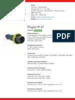 Plugue IP 67 - S4676