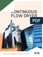Continuous Flow Dryer