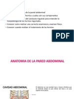 Pared Abdominal y Hernias Inguinales