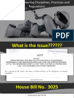 EnM 221 Survey of Engineering Disciplines, Practices and Regulations