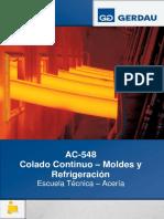Colada Continua – Moldes y Refrigeración - Cuaderno Del Alumno