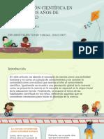 LA FORMACIÓN CIENTÍFICA EN LOS PRIMEROS AÑOS DE.pptx