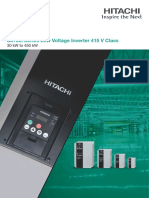 Low Voltage Drive - SJ 700i (415V) (30 KW to 450 KW) Catalogue