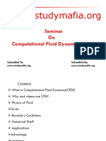 CIVIL Computational Fluid DynamicsCFD PPT
