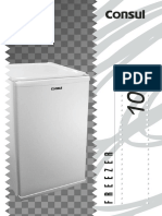 Manual freezer Consul 98l CVT10B_manual