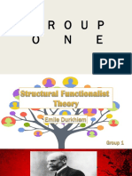 Functionalist Structionalisn Karl Marx Theory of Group 1 FTC3 9 1BSEDENG January 2019
