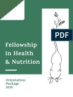 sehatvan fellowship program
