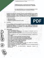 Manual de procedimientos para la ejecución de obras del Programa Nacional de Infraestructura Educativa -PRONIED.pdf