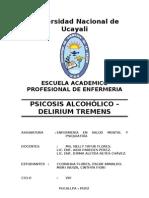 psicosis alcoholica