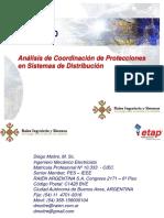 Estudio de Coordinacion de Protecciones Tulizando ETAP