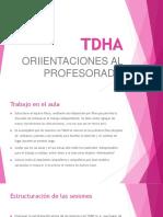 ORIENTACIONES TDHA