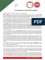 Declaración Del PCPE Ante Crisis PSOE
