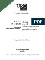 Religión y Salud mental