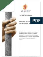 Carta Dei Valori Del Metodo Arkeon