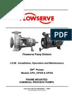 Flowserve CPX CPXR CPXN Manual.pdf
