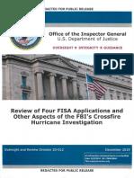 DOJ IG Report PDF