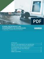 O Papel Do Setor de TI No Atendimento e Na Comunicação