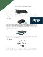 Komponen - Komponen Pada Komputer
