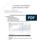 ansys tutorial