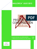Libro de precios 2012 - Mallorca