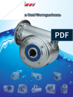 FV Worm Gearboxes