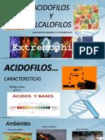 Acidofilos y Alcalifilos
