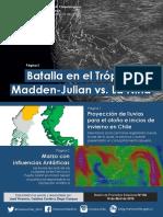 Madden-julian vs La niña