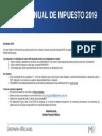 Comunicado Calculo Anual Impuesto 2019 (1)
