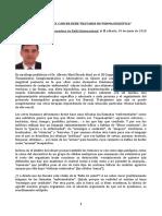 Dr. Alberto Martí Bosch Elcáncer Debe Tratarse de Forma Holística