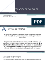 FINANZAS I - ADMINISTRACION DE CAPITAL DE TRABAJO.pptx