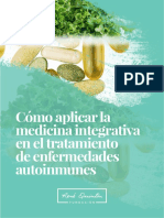 Como Aplicar Medicina Integrativa en El Tratamiento Enfermedades Autoinmunes